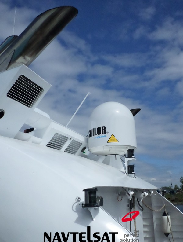 Sailor 900 на катере проекта А145П